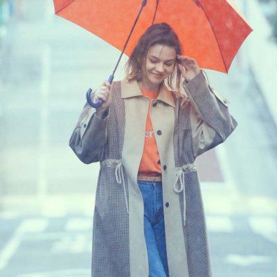 コーディネート #パドルプラス #雨