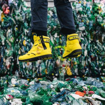 リサイクル素材を採用した<br>エコな防水ブーツを発売!