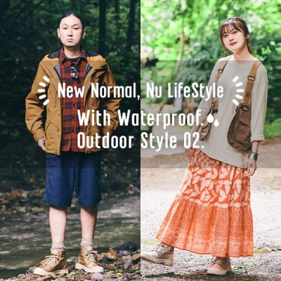 With Waterproof.<br>New Outdoor Style LOOK.01