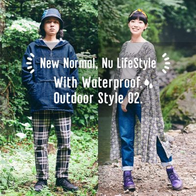 With Waterproof.<br>New Outdoor Style LOOK.02